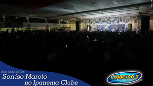 Foto Sorriso Maroto no Ipanema Clube 10