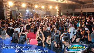 Foto Sorriso Maroto no Ipanema Clube 21
