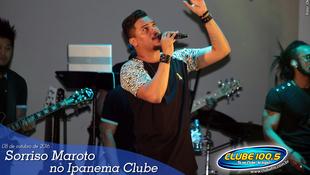Foto Sorriso Maroto no Ipanema Clube 22