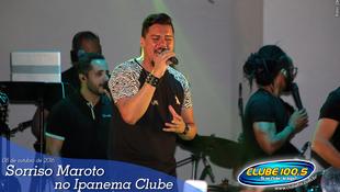 Foto Sorriso Maroto no Ipanema Clube 25