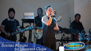 Foto Sorriso Maroto no Ipanema Clube 28
