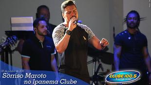 Foto Sorriso Maroto no Ipanema Clube 42