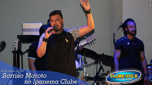 Foto Sorriso Maroto no Ipanema Clube 44