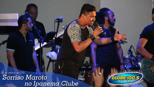 Foto Sorriso Maroto no Ipanema Clube 45