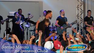 Foto Sorriso Maroto no Ipanema Clube 49
