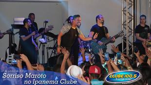 Foto Sorriso Maroto no Ipanema Clube 50