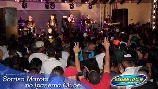 Foto Sorriso Maroto no Ipanema Clube 53