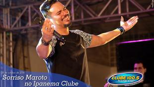 Foto Sorriso Maroto no Ipanema Clube 87