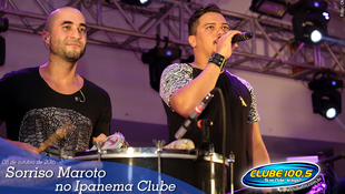 Foto Sorriso Maroto no Ipanema Clube 88