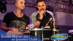 Foto Sorriso Maroto no Ipanema Clube 90