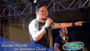 Foto Sorriso Maroto no Ipanema Clube 92
