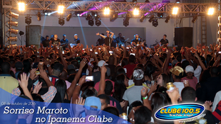 Foto Sorriso Maroto no Ipanema Clube 95