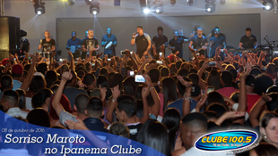 Foto Sorriso Maroto no Ipanema Clube 98