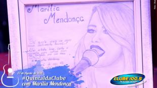 Foto Quintal da Clube com Marília Mendonça 1