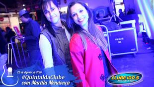 Foto Quintal da Clube com Marília Mendonça 18