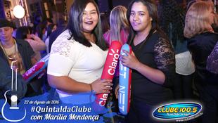 Foto Quintal da Clube com Marília Mendonça 23
