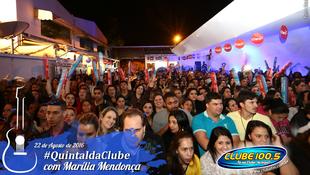 Foto Quintal da Clube com Marília Mendonça 41