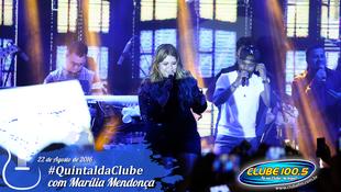 Foto Quintal da Clube com Marília Mendonça 56