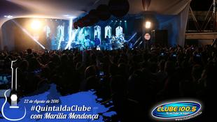 Foto Quintal da Clube com Marília Mendonça 65