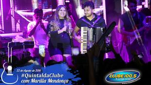 Foto Quintal da Clube com Marília Mendonça 80