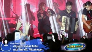Foto Quintal da Clube com Marília Mendonça 83