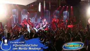 Foto Quintal da Clube com Marília Mendonça 87