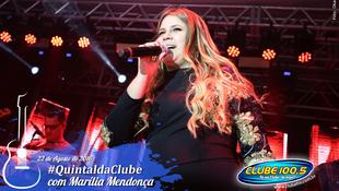 Foto Quintal da Clube com Marília Mendonça 89