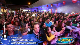 Foto Quintal da Clube com Marília Mendonça 92