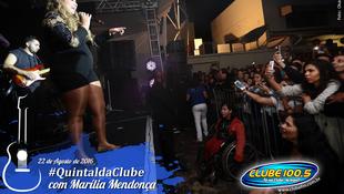 Foto Quintal da Clube com Marília Mendonça 95