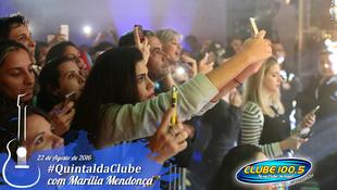 Foto Quintal da Clube com Marília Mendonça 99