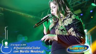 Foto Quintal da Clube com Marília Mendonça 111
