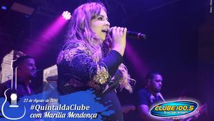 Foto Quintal da Clube com Marília Mendonça 115