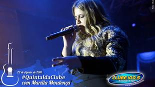 Foto Quintal da Clube com Marília Mendonça 119