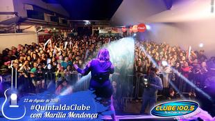 Foto Quintal da Clube com Marília Mendonça 121
