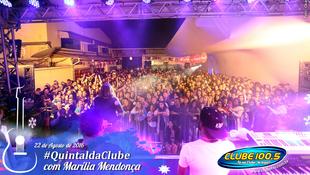 Foto Quintal da Clube com Marília Mendonça 122