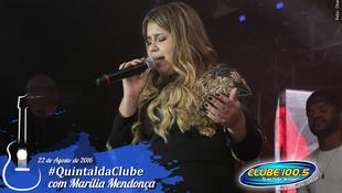 Foto Quintal da Clube com Marília Mendonça 124