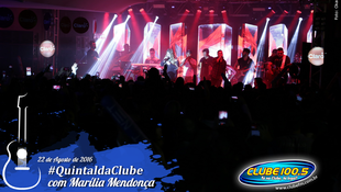 Foto Quintal da Clube com Marília Mendonça 126
