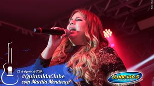 Foto Quintal da Clube com Marília Mendonça 127