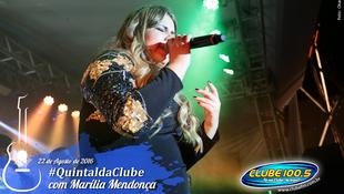 Foto Quintal da Clube com Marília Mendonça 130