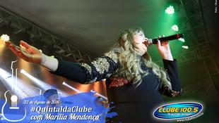 Foto Quintal da Clube com Marília Mendonça 131