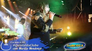 Foto Quintal da Clube com Marília Mendonça 132