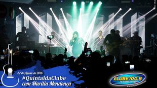 Foto Quintal da Clube com Marília Mendonça 135