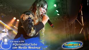 Foto Quintal da Clube com Marília Mendonça 134