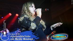 Foto Quintal da Clube com Marília Mendonça 137