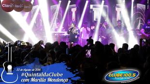 Foto Quintal da Clube com Marília Mendonça 138
