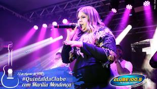 Foto Quintal da Clube com Marília Mendonça 142