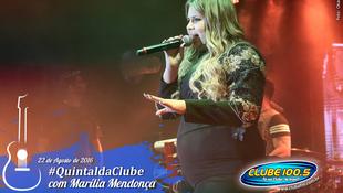 Foto Quintal da Clube com Marília Mendonça 145