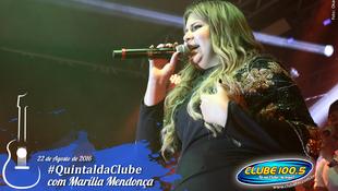Foto Quintal da Clube com Marília Mendonça 146