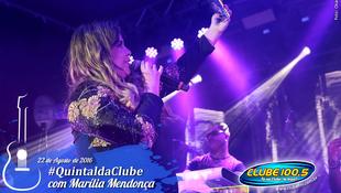 Foto Quintal da Clube com Marília Mendonça 151