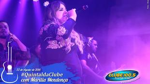 Foto Quintal da Clube com Marília Mendonça 153